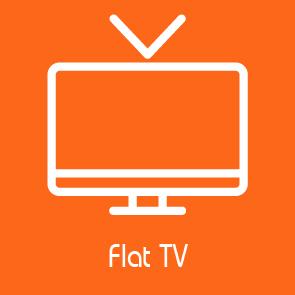 flat tv facilities