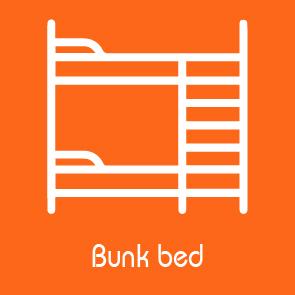bunk bed facilities