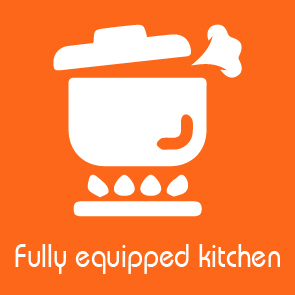 fully equipped kitchen facilities