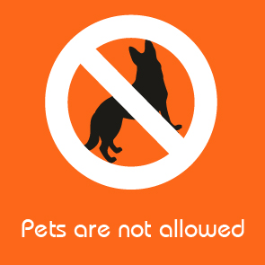 pets are not allowed facilities