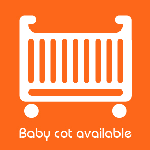 Baby cot available facility